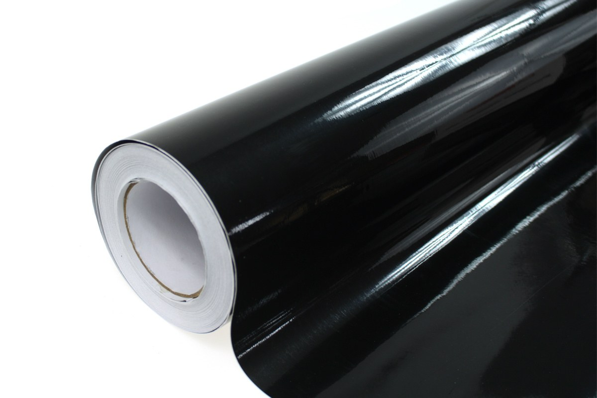 Folia Wrap Black 1,52X30m - GRUBYGARAGE - Sklep Tuningowy